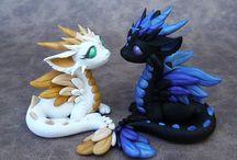 Dragones y Gargolas
