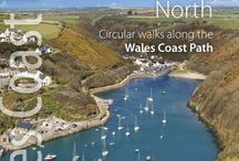 Official Guide Books and Circular walks / Northern Eye are the official publishers for the Wales Coast Path guide Books.  They also publish circular walks on the Wales Coast Path to compliment the official guides.