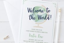 Party Invitations / Clink paper