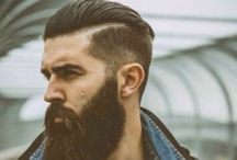 Mens hairs and beards