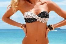 Swimwear / My love for the water and fashion mix on this board/