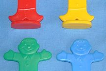 Candyland game pieces