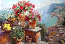 Пейзажи Италии в живописи