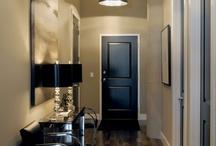 black interior doors / by Laura Thornton