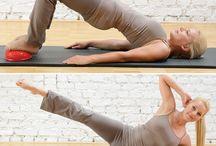 Übungsanleitungen / Übungsbeispiele für Pilates und Fitness Produkte