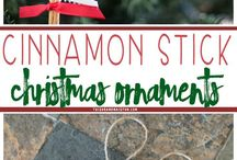Cinnamon sticks christmas