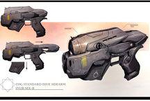 Weapon: Pistols