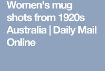 Women's mug shots