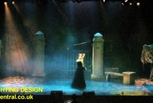 Theatre Productions / Lighting hire for Theatre productions supported by Steve Page Lighting Hire Services, Dundee, Scotland: www.dundeecentral.co.uk