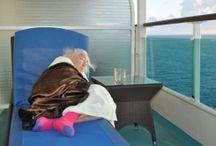 Cruising at sea
