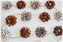 Piñas de pinos > pine cones > carfts > DIY