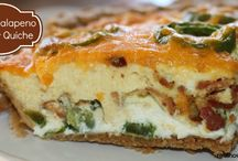 Savoury tarts & quiches / so many things to try...