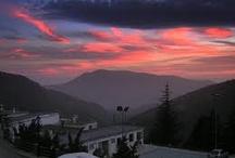 Atardeceres en Capileira/sunsets in Capileira
