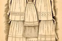 Women, Aprons, 1850-1930