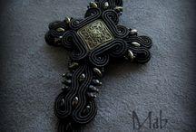 Mab Magdalena Bielska - gothic soutache jewellery