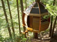 now that is what I call a treehouse!
