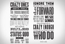 typography / by Steph Enny