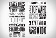 People & phrases