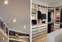 Lys walk-in closet
