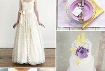 Lemon Lilac Wedding