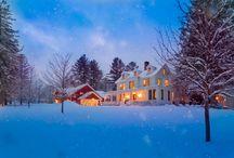 Winter in Manchester, Vermont