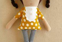 couture doudous et poupées de chiffon