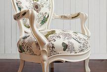 Armchair fabrics