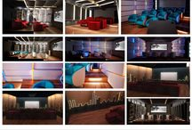 Home Cinema & Home Theater / Design and realization of Home Cinema and Home Theater.