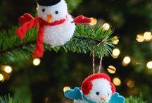 christmas / Santa,craft,green,Red, tree