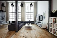 Homes. / inspirational interior and exterior designs. aka spaces I'd love to hang out in.