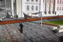 Architektura krajobrazu otwartego / Plac Małachowskiego w Warszawie