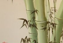 bamboo / NATUREART week #26 #natureartegyevenat2017 www.artbyildy.com/natureart free year long inspiration course closed fb group: https://www.facebook.com/groups/Natureartegyevenat2017