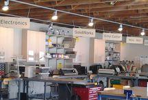 Makerspaces und FabLabs rund um die Welt