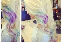 Lang Haar en kleur / Haar
