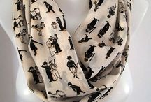 my style / fashion scarf , shawl