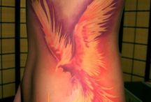 Tatuaje Cu Pasărea Phoenix