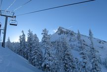 Winter Wonderland / Frosted mountain tops, roaring fires, and cozy cabins.  And powder ... lots of powder.