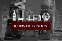 Icons of the London / #design #london #icons