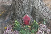 Woodland landscape ideas / The whimsy of a woodland landscape.
