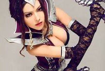 Sexy girls in Cosplay / sexy cosplay by girls
