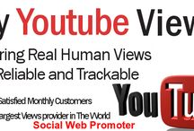 Buy Youtube Real Views / In order to increase popularity for your video in youtube simply type in buy youtube real views in internet. It will lead you towards the best deal online.