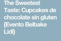 Sin gluten cupcakes