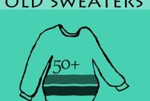 šití - ze starého svetru