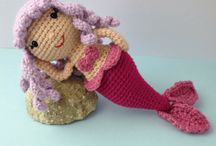Sandra the mermaid amigurumi / sandra the mermaid amigurumi free pattern