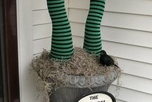 Halloween Decorating / Inspirations for turning ordinary decor found at Goodwill into fantastic and fun Halloween home hauntings