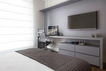 quartos com escritório