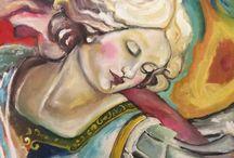 Pintura quadro / Oilcanvas