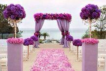 Romantyczny fiolet / Wrzos, fiolet, lawenda podkreślają ilość romantyzmu zawartego w dniu ślubu. Myśląc o tym kolorze przychodzą nam na myśl same dobre wspomnienia i piękne zapachy. Wykorzystując ten kolor w dniu ślubu i wesela wpisujemy się w same dobre wspomnienia