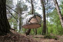 Dans les airs... Suspendu !!! / Hébergements suspendus, cabanes perchées, tentes perchées, bulles... - www.versionvoyages.fr - Version Voyages