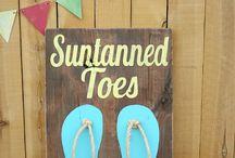 Strand decoraties